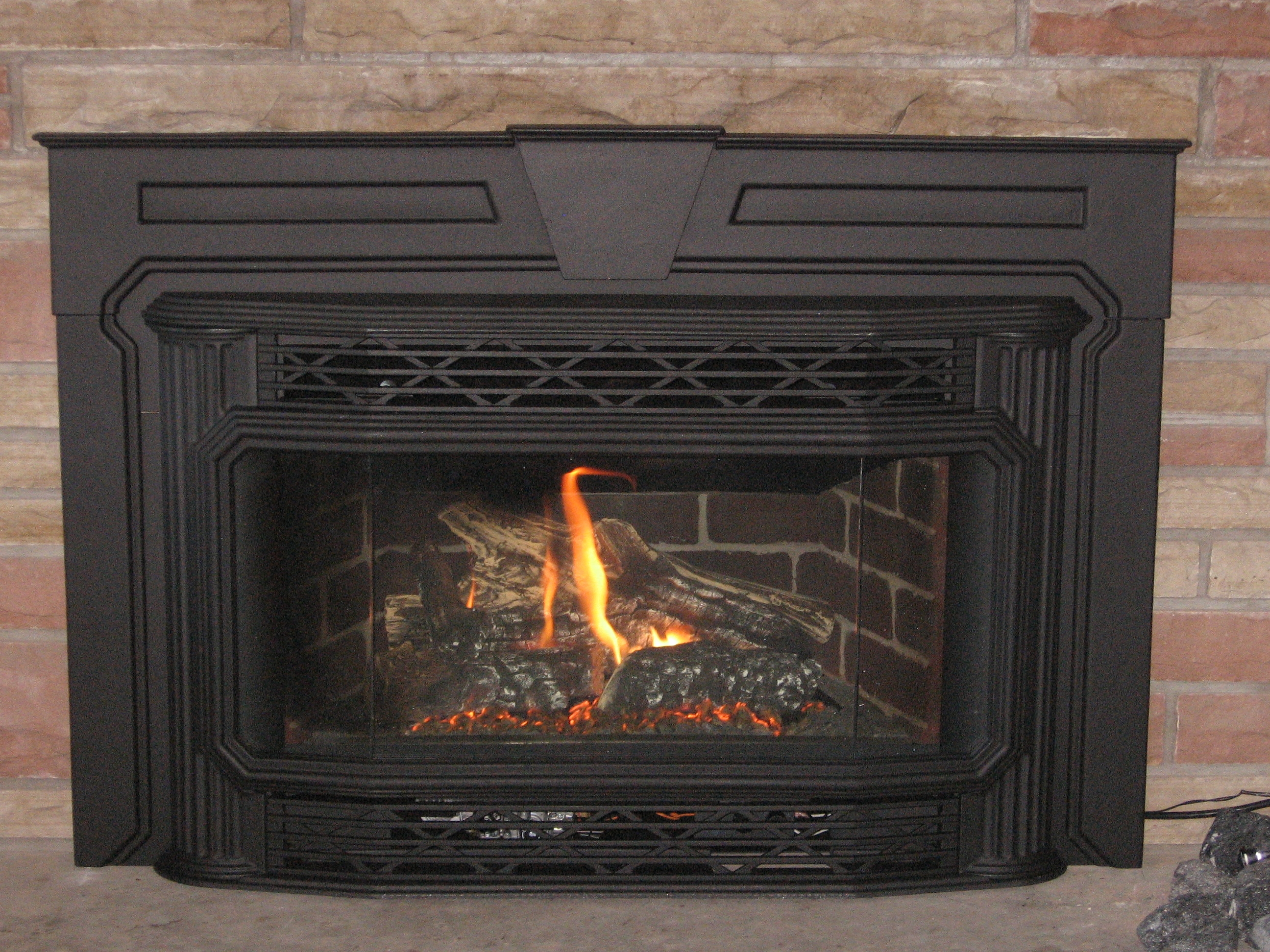 REPLACE GAS FIREPLACE WITH WOOD INSERT – Fireplaces